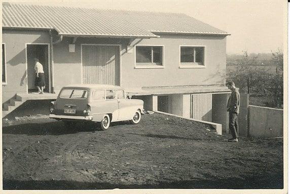 Das fertige Lager 1958